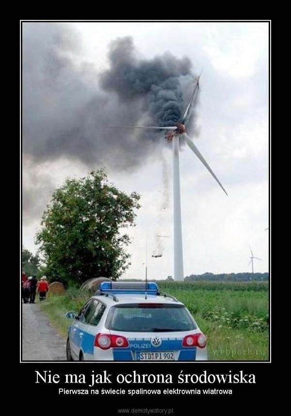Nie ma jak ochrona środowiska – Pierwsza na świecie spalinowa elektrownia wiatrowa