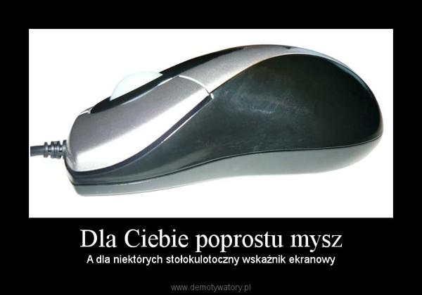 Dla Ciebie poprostu mysz – A dla niektórych stołokulotoczny wskaźnik ekranowy