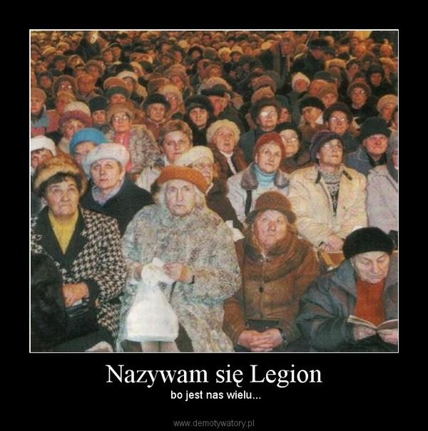 Nazywam się Legion –  bo jest nas wielu...
