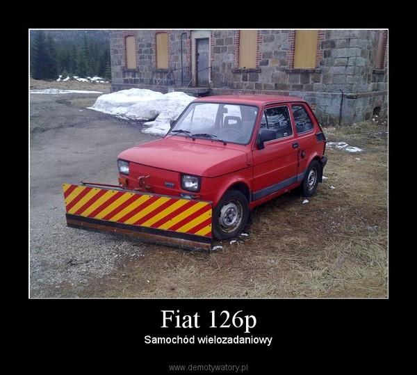Fiat 126p – Samochód wielozadaniowy
