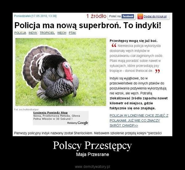 Polscy Przestępcy – Maja Przesrane