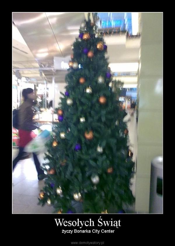 Wesołych Świąt –  życzy Bonarka City Center