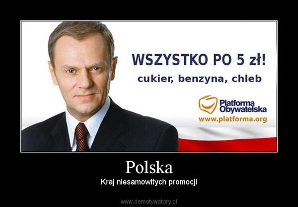Polska – Kraj niesamowitych promocji