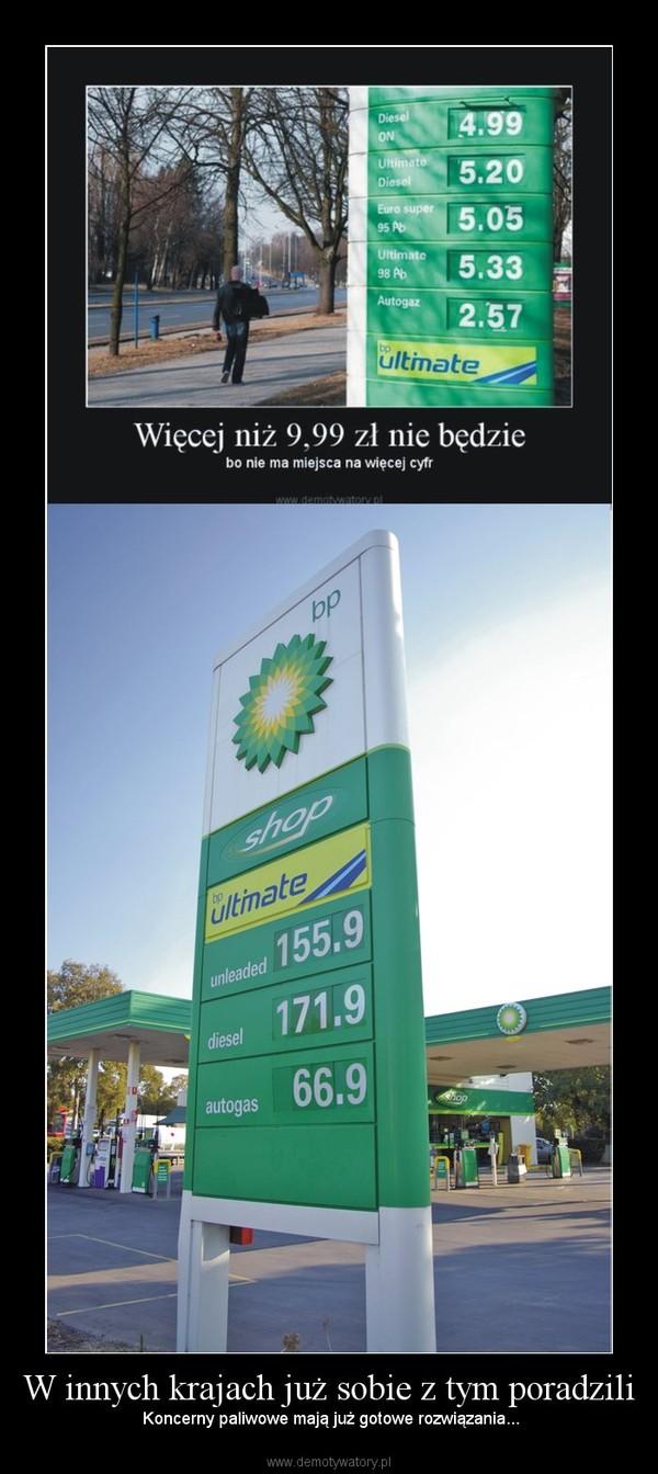 W innych krajach już sobie z tym poradzili – Koncerny paliwowe mają już gotowe rozwiązania...