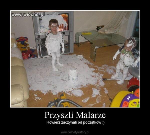 Przyszli Malarze – Rówierz zaczynali od początków :)