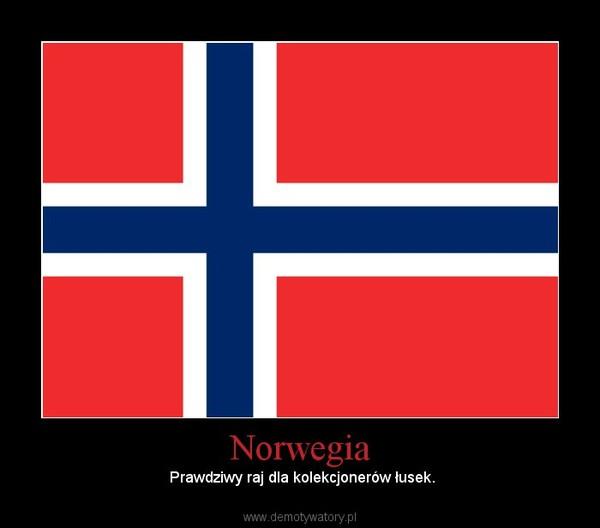 Norwegia – Prawdziwy raj dla kolekcjonerów łusek.