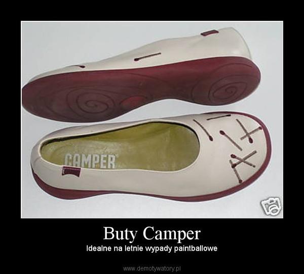 Buty Camper – Idealne na letnie wypady paintballowe