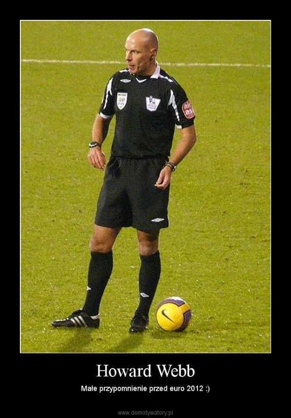Howard Webb – Małe przypomnienie przed euro 2012 :)