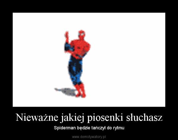 Nieważne jakiej piosenki słuchasz – Spiderman będzie tańczył do rytmu