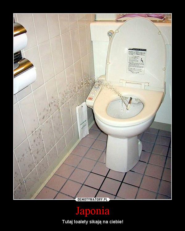 Japonia – Tutaj toalety sikają na ciebie!