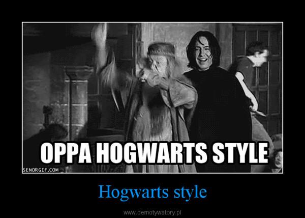 Hogwarts style –