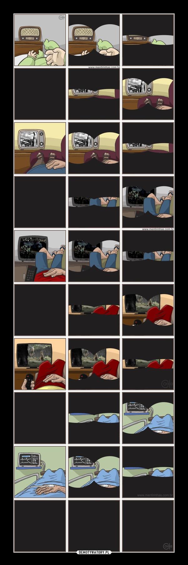 Całe życie przed ekranem –