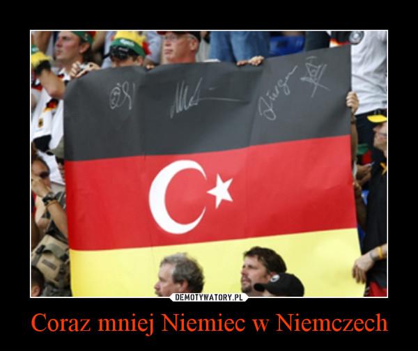 Coraz mniej Niemiec w Niemczech –