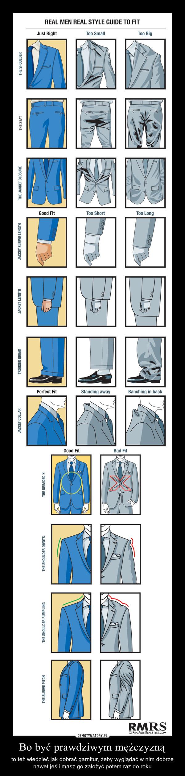 b0a009d768525 Bo być prawdziwym mężczyzną – to też wiedzieć jak dobrać garnitur, żeby  wyglądać w nim