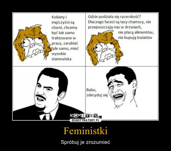 Feministki – Spróbuj je zrozumieć