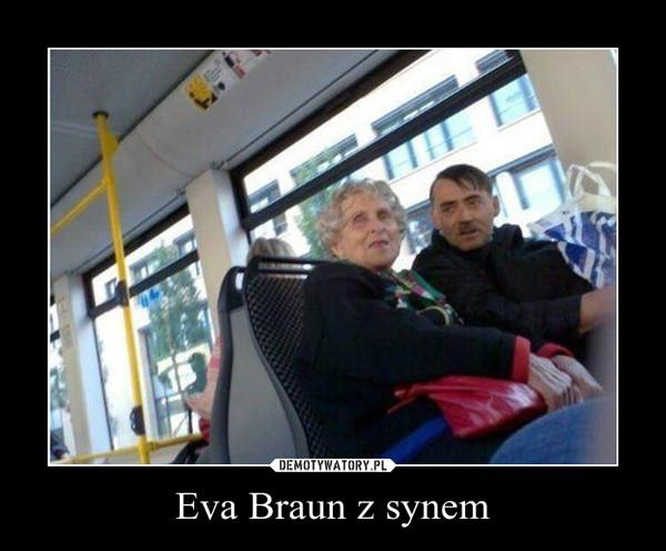Eva Braun z synem –