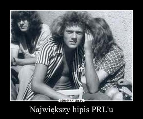 Największy hipis PRL'u