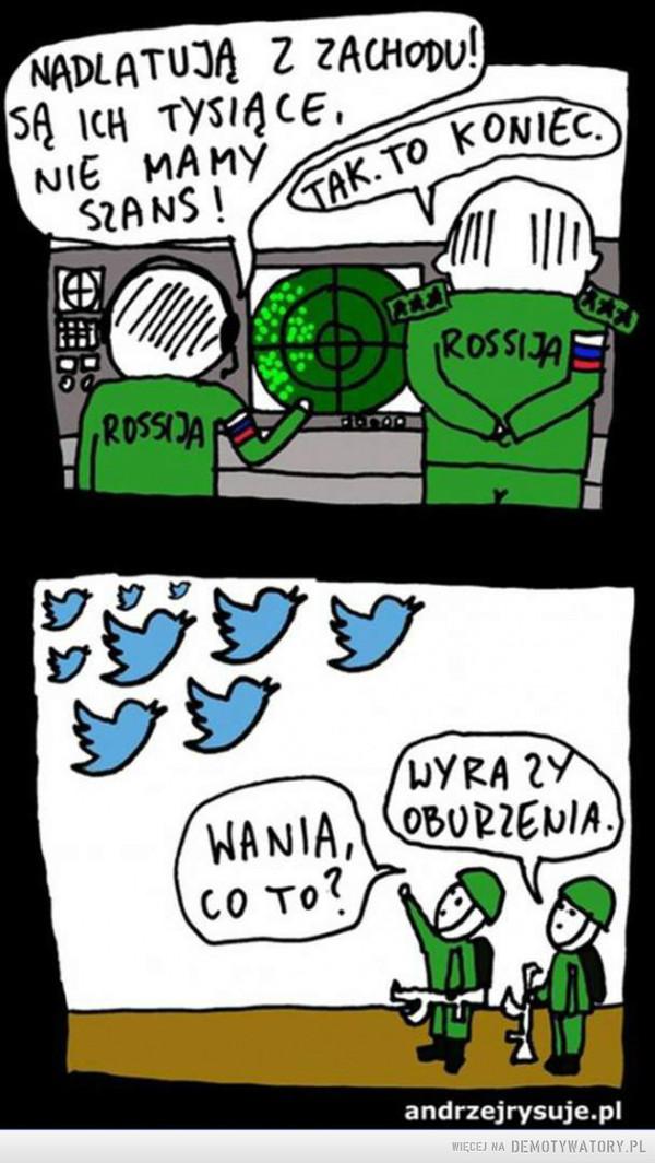Reakcja Rosji na oburzenie UE –