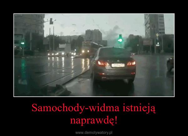 Samochody-widma istnieją naprawdę! –