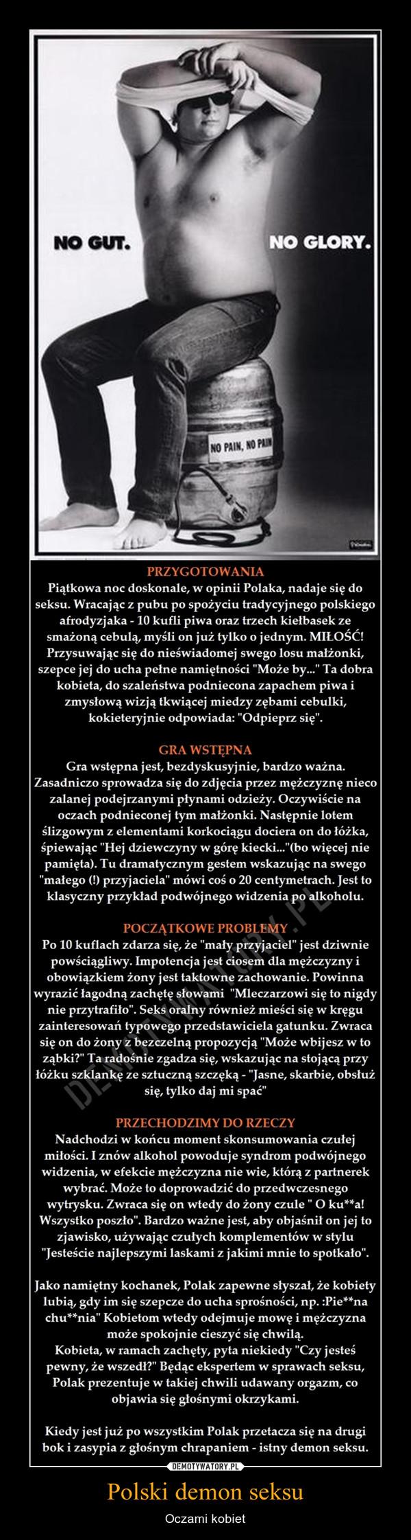 Polski demon seksu – Oczami kobiet