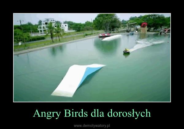 Angry Birds dla dorosłych –