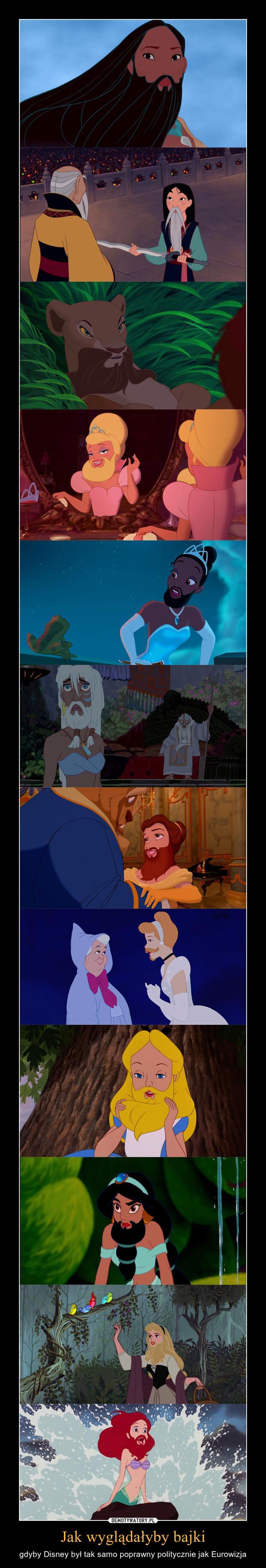 Jak wyglądałyby bajki – gdyby Disney był tak samo poprawny politycznie jak Eurowizja