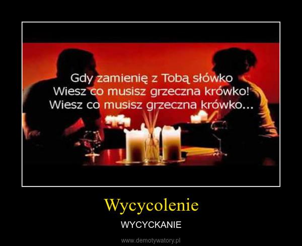Wycycolenie – WYCYCKANIE