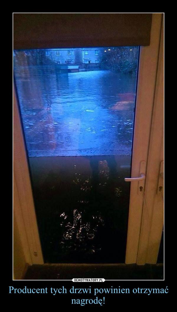 Producent tych drzwi powinien otrzymać nagrodę! –