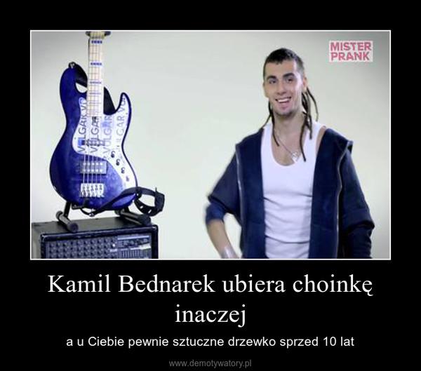 Kamil Bednarek ubiera choinkę inaczej – a u Ciebie pewnie sztuczne drzewko sprzed 10 lat