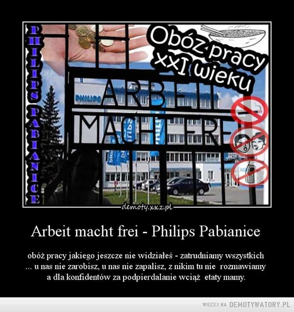 Obóz Pracy Philips Pabianice –
