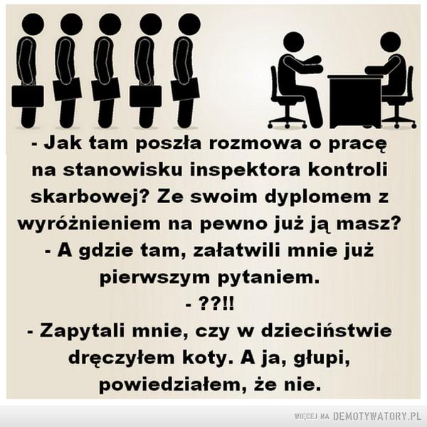Rozmowa o pracę –