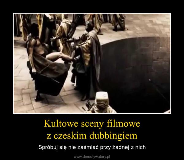 Kultowe sceny filmowez czeskim dubbingiem – Spróbuj się nie zaśmiać przy żadnej z nich
