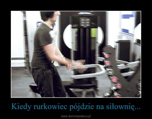 Kiedy rurkowiec pójdzie na siłownię... –