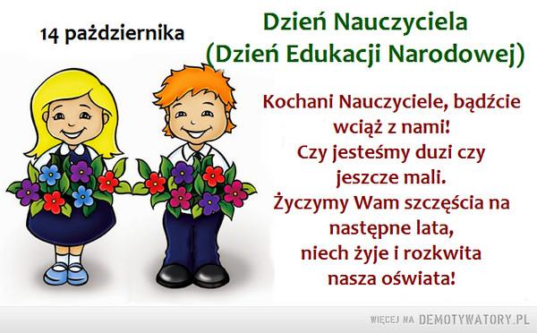 Dzień Nauczyciela –