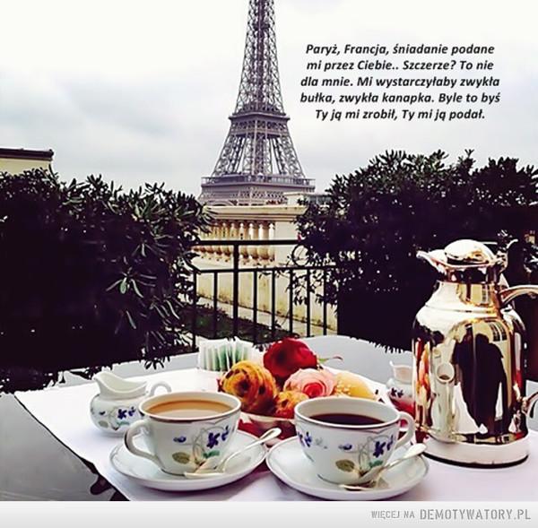 Śniadanie. –