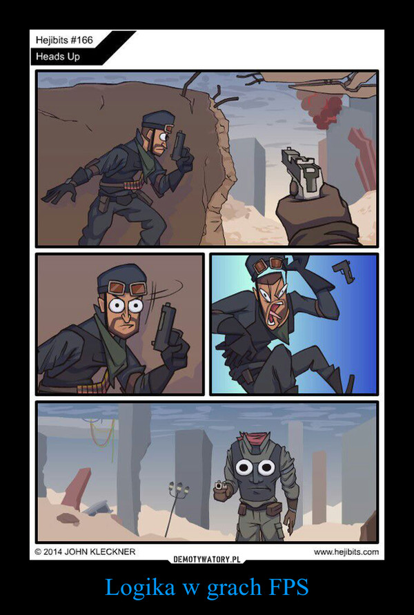 Logika w grach FPS –