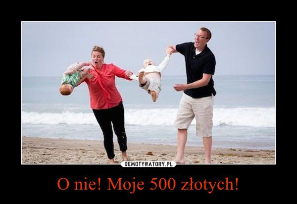 O nie! Moje 500 złotych! –