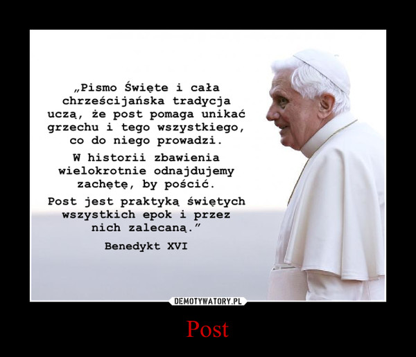 Post –