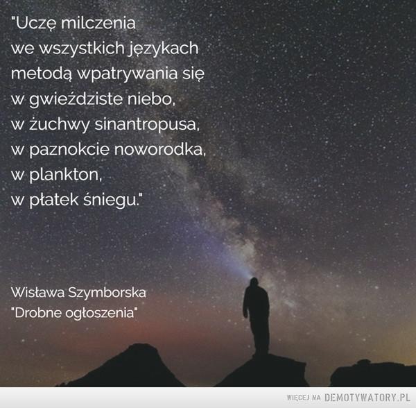 Milczenie... –