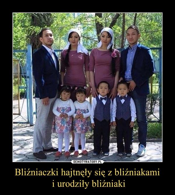 Bliźniaczki hajtnęły się z bliźniakami i urodziły bliźniaki –