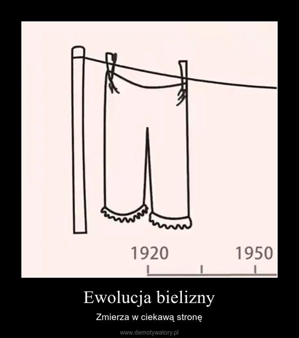 Ewolucja bielizny – Zmierza w ciekawą stronę