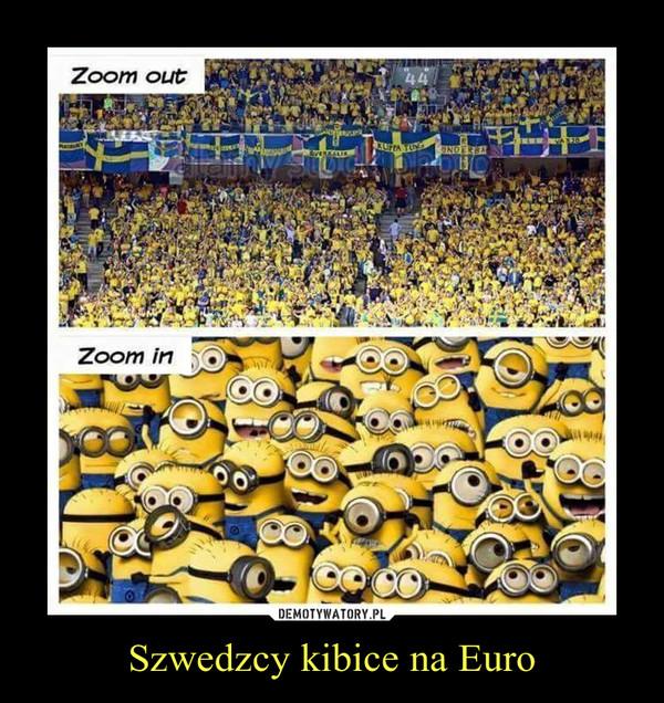 Szwedzcy kibice na Euro –