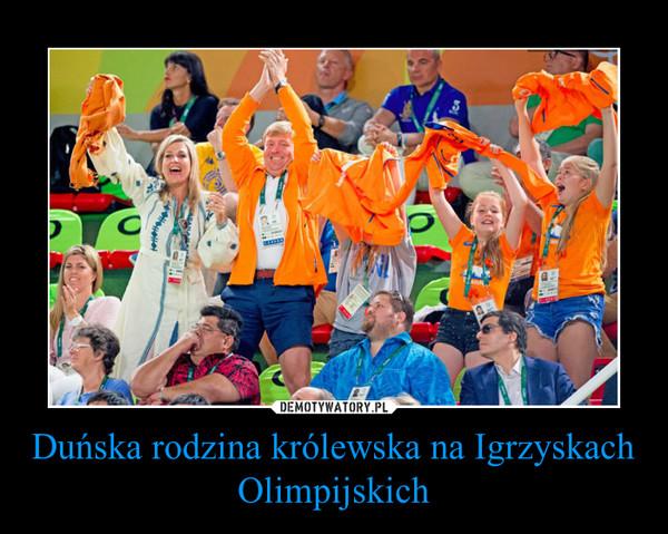 Duńska rodzina królewska na Igrzyskach Olimpijskich –