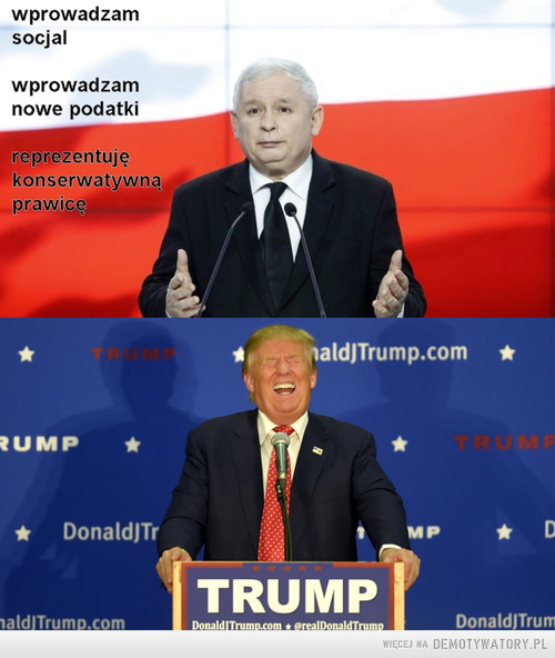Konserwatywna Prawica - Polska vs USA