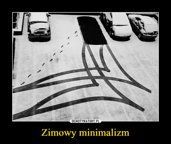 Zimowy minimalizm –