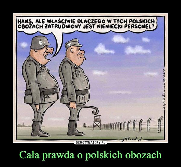 Cała prawda o polskich obozach –