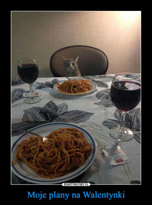 Moje plany na Walentynki –