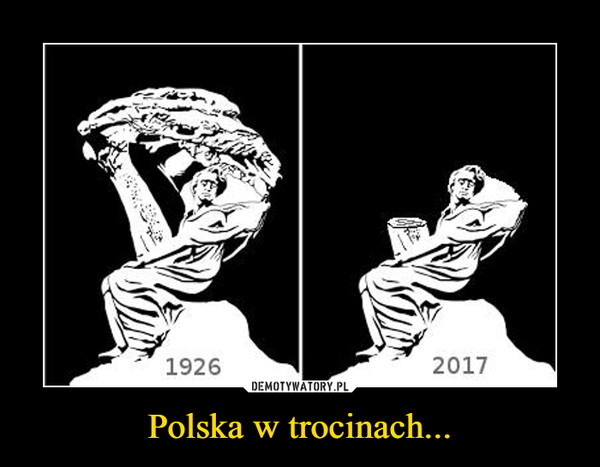 Polska w trocinach... –