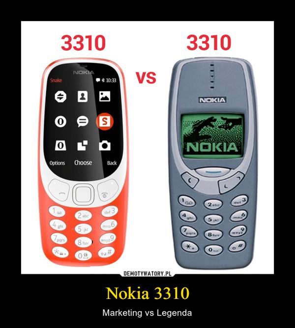 Nokia 3310 – Marketing vs Legenda