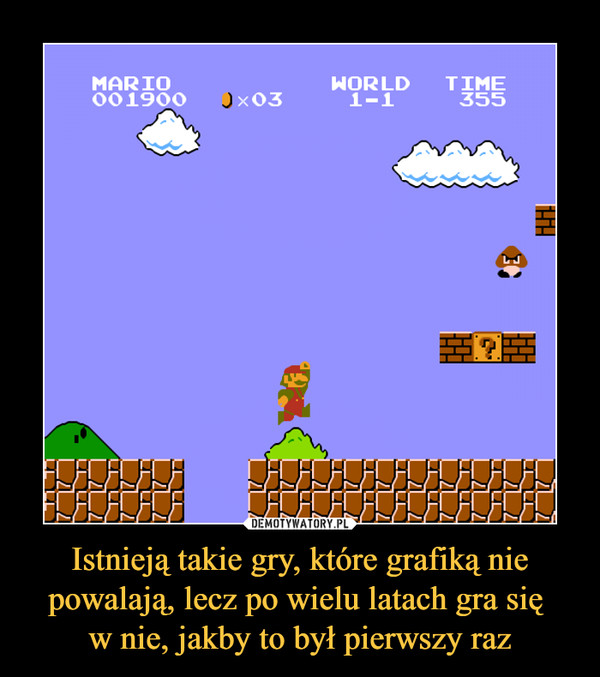 Istnieją takie gry, które grafiką nie powalają, lecz po wielu latach gra się w nie, jakby to był pierwszy raz –